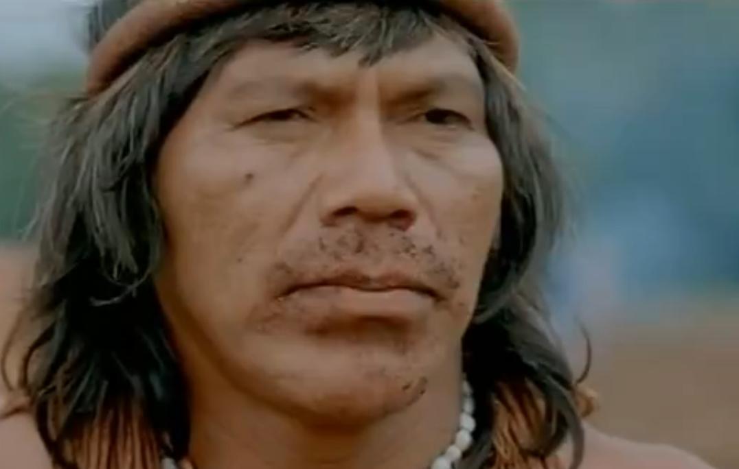 Immagine dal film La terra degli uomini rossi, di Marco Bechis, per gentile concessione del regista