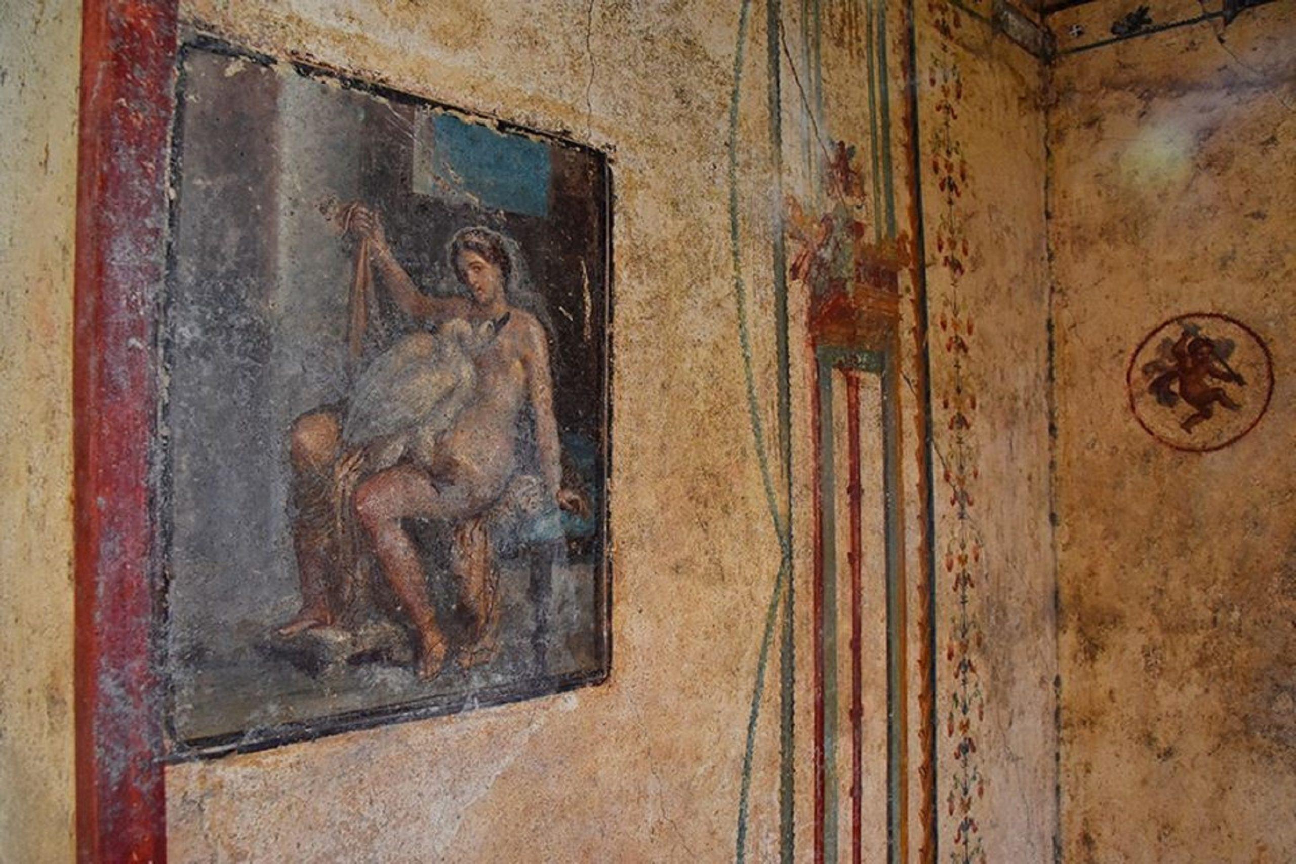 Meraviglia Pompei. La domus di Leda e il cigno: la sensazionale scoperta finalmente visibile al pubblico