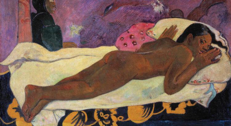 Paul Gauguin, Manaò tupapaú (Spirit of the Dead Watching)