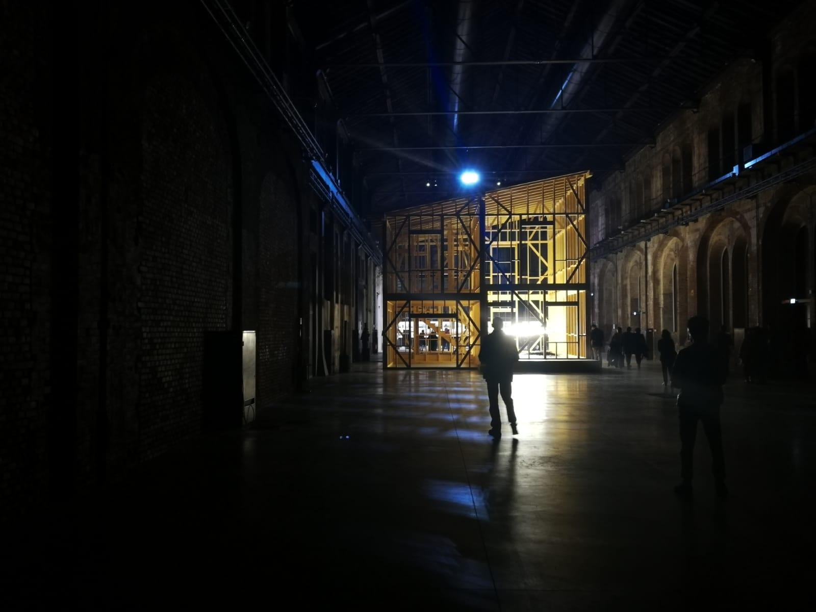 As Walls Keep Shifting, OGR (Officine Grandi Riparazioni) di Torino