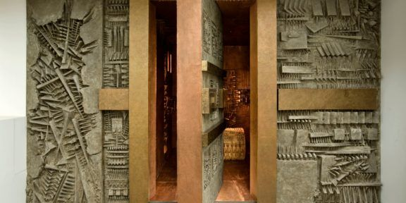 Labirinto di Arnaldo Pomodoro. Ph. Dario Tettamanzi