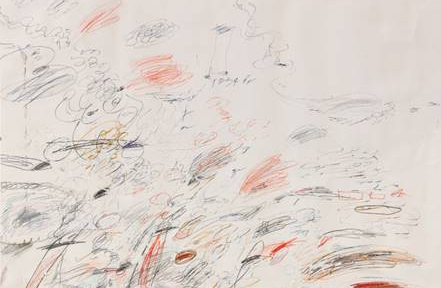Untitled di Cy Twombly