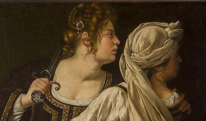 Artemisia Gentileschi, Giuditta e la fantesca Abra