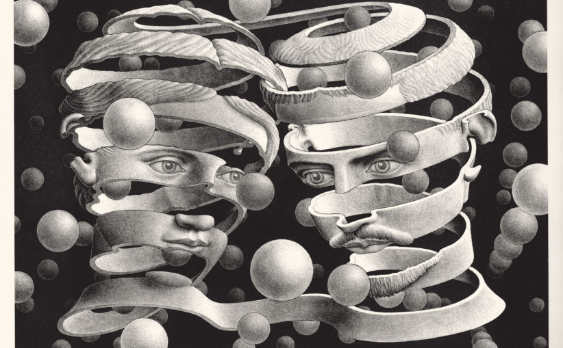 Escher Trieste dicembre 2019, Vincolo d'unione, 1956