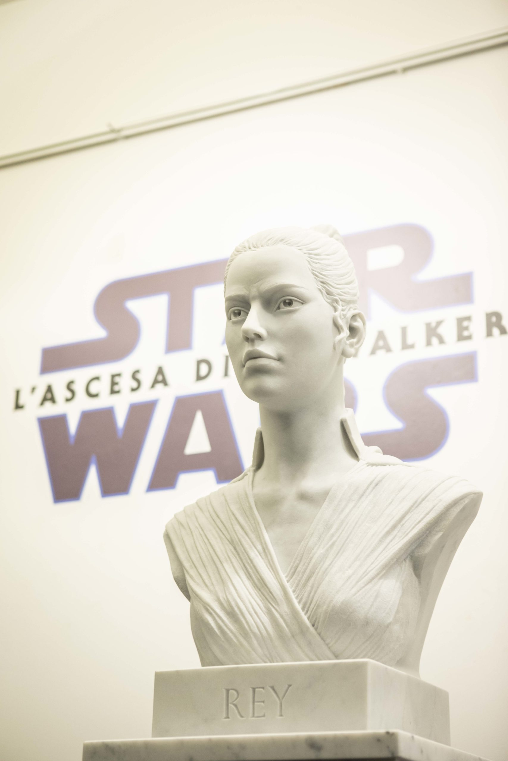 Star Wars: L'Ascesa di Skywalker, le sculture ispirate ai personaggi del film