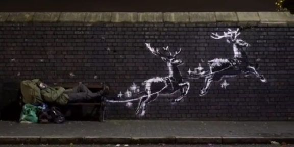 Banksy, screen del video