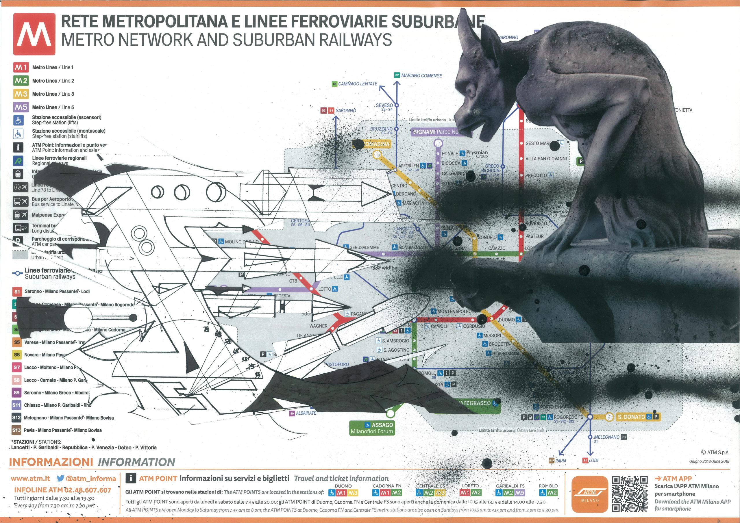 Una calligrafia pittorica totale. I 50 anni del gigante Flycat a Milano, il meglio dell'underground tra Italia e USA