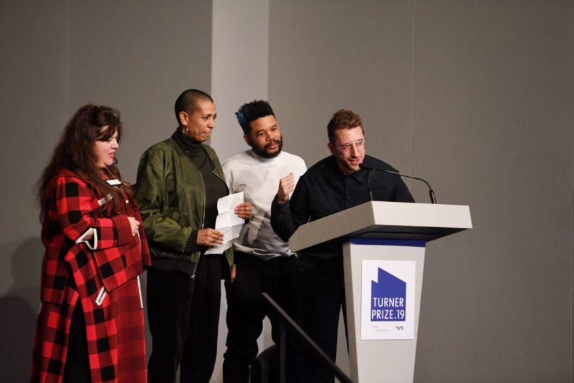 Gli artisti finalisti al Turner Prize 2019