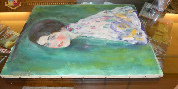 Il Ritratto di Signora di Gustav Klimt recuperato a Piacenza