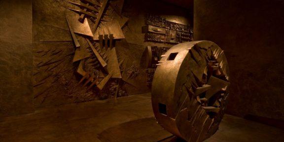Labirinto di Pomodoro a Milano. Foto di Dario Tettamanzi