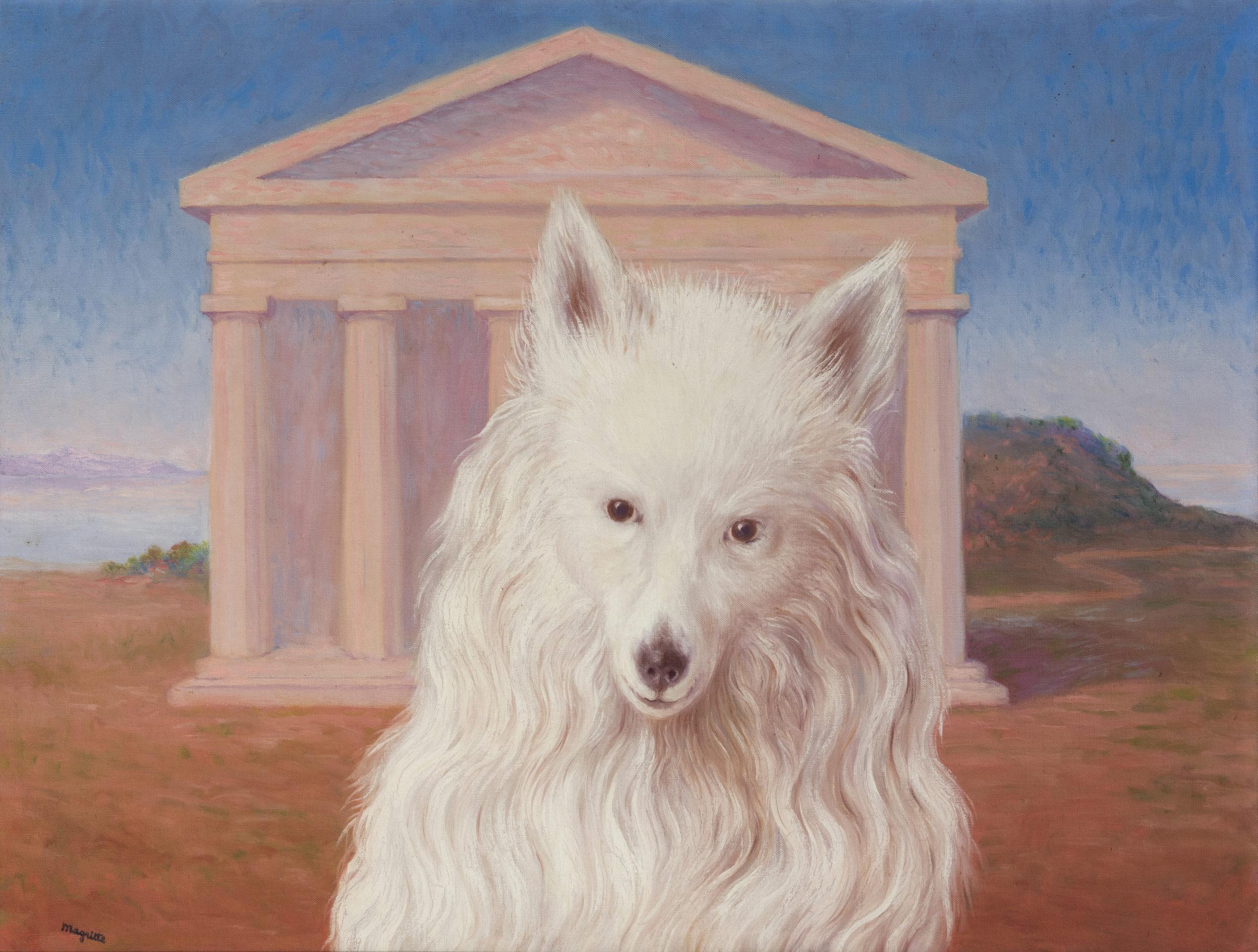 Magritte e Legér guidano l'asta Wannenes a Milano. Il ritratto del cane Jackie stima fino a 1,2 milioni
