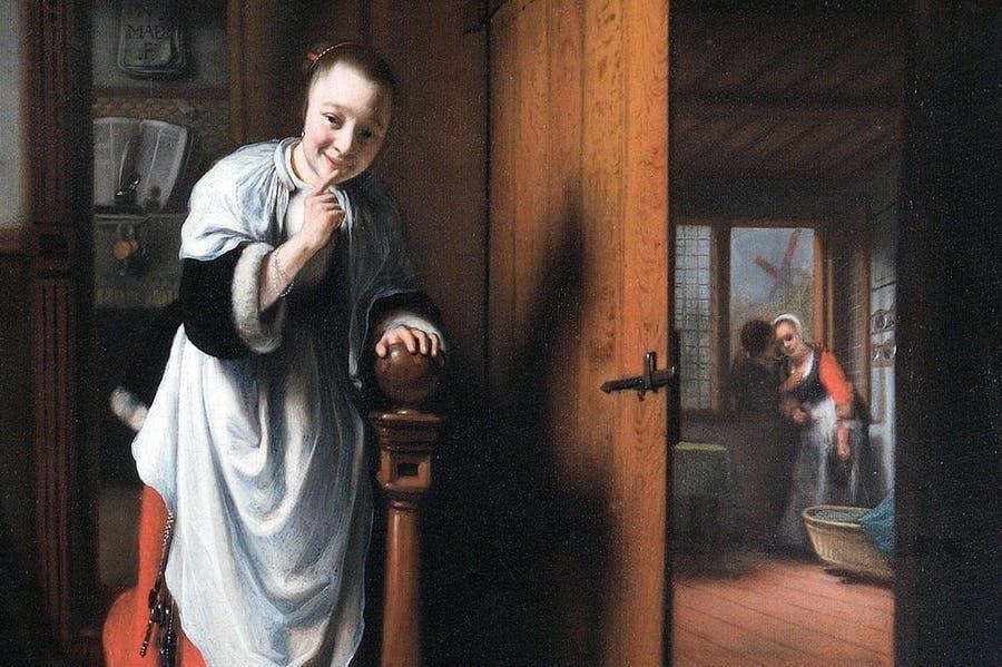 Frammenti di vita rubata: l'olandese Nicolaes Maes per la prima volta nel Regno Unito