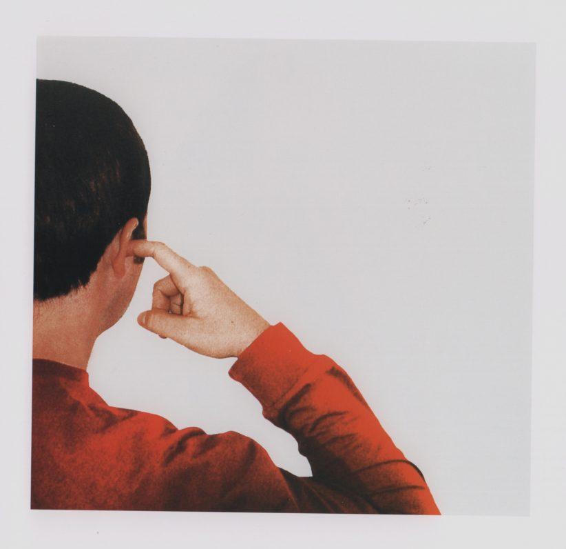 Michelangelo Pistoletto, 50 Azioni. Dito nell'orecchio, Cittadellarte Fondazione Pistoletto, Biella © C. Abate
