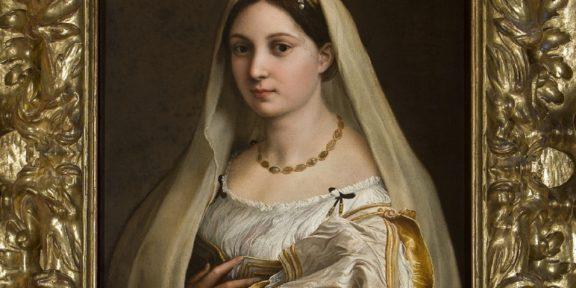 Raffaello Sanzio- La Velata (particolare) Courtesy Image Scuderie del Quirinale