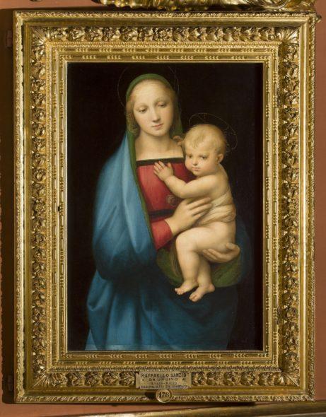 Raffaello Madonna del Granduca- Uffizi