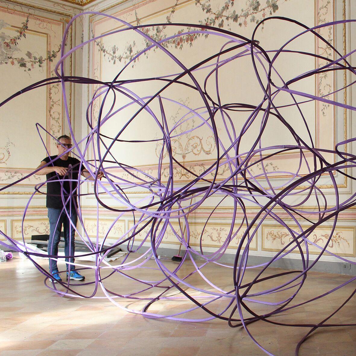 Le Dimensioni infinite di Michelangelo Penso. Catturare la voce dei pianeti nelle sale del CAMeC di La Spezia