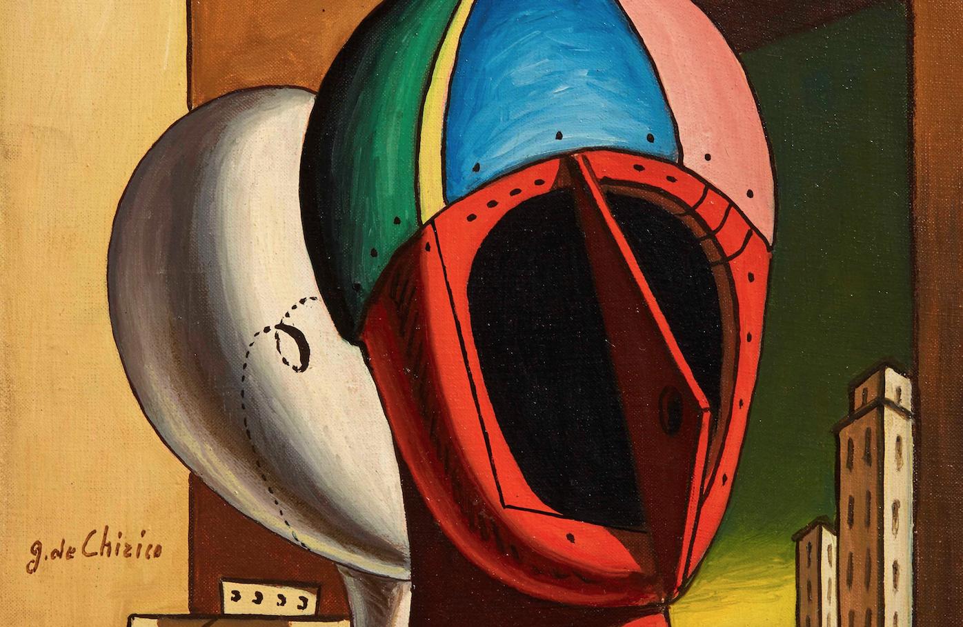 Dalla metafisica di De Chirico al Cubismo di Emil Filla. L'asta di Pandolfini