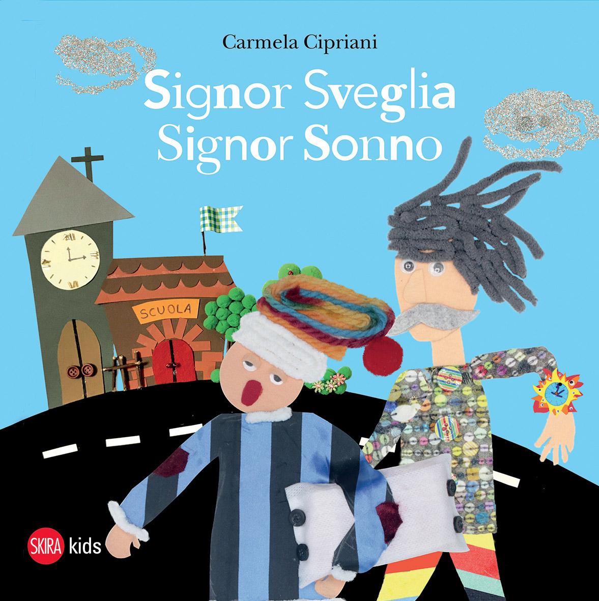 """""""Signor Sveglia, Signor Sonno"""", il racconto i Carmela Cipriani negli occhi dei bambini del Policlinico di Catania"""