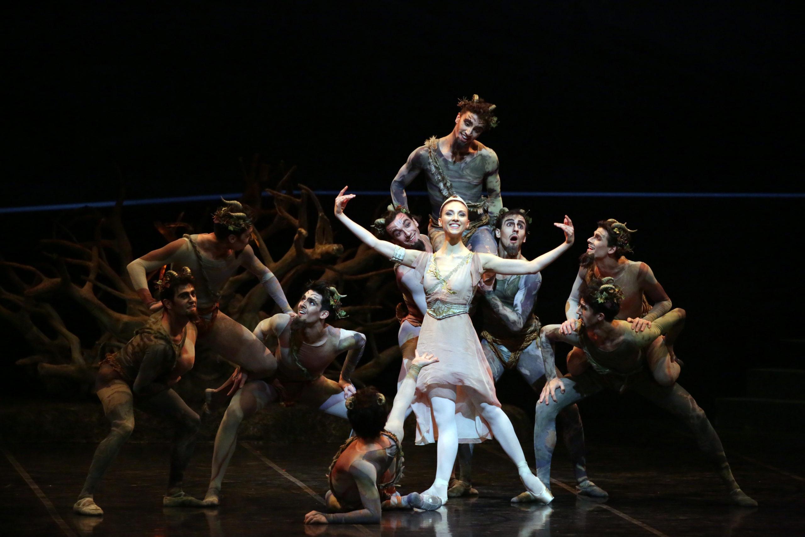 Trionfo del Corpo di Ballo in Sylvia alla Scala