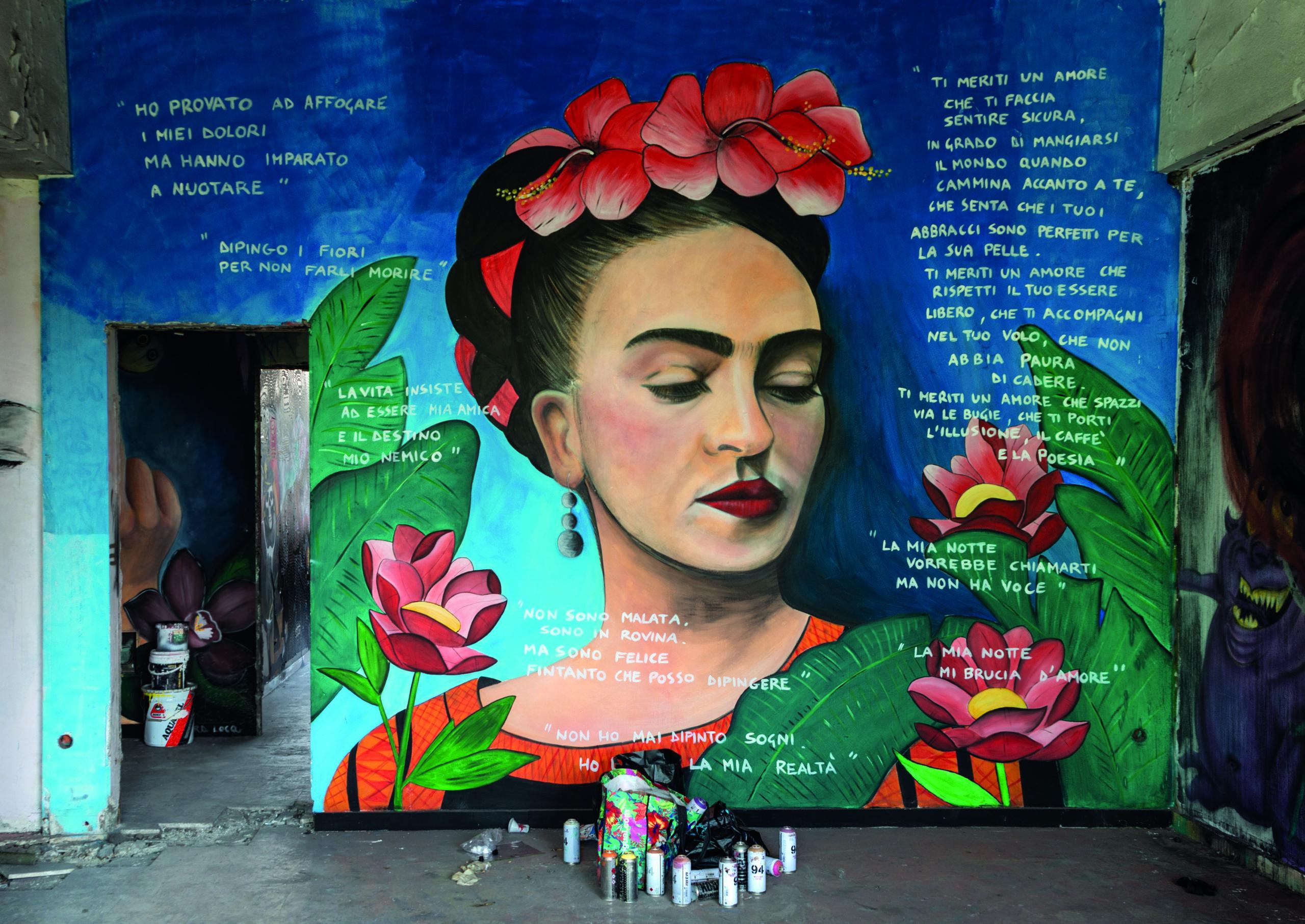 La fabbrica della Street Art, l'esperienza del Castello di Zak