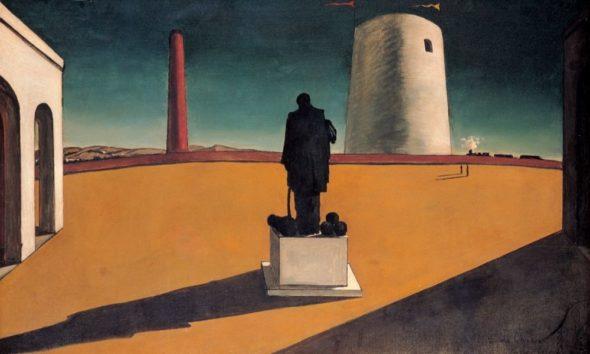 Giorgio De Chirico, L'enigma di una giornata, 1914