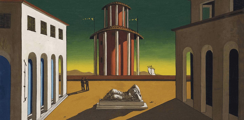 Giorgio De Chirico, L'enigma di un pomeriggio d'autunno