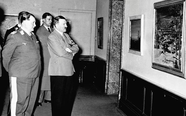 Hitler, Goering, Gurlitt e la vergognosa razzia nazista di capolavori, in una docu-serie su Sky Arte