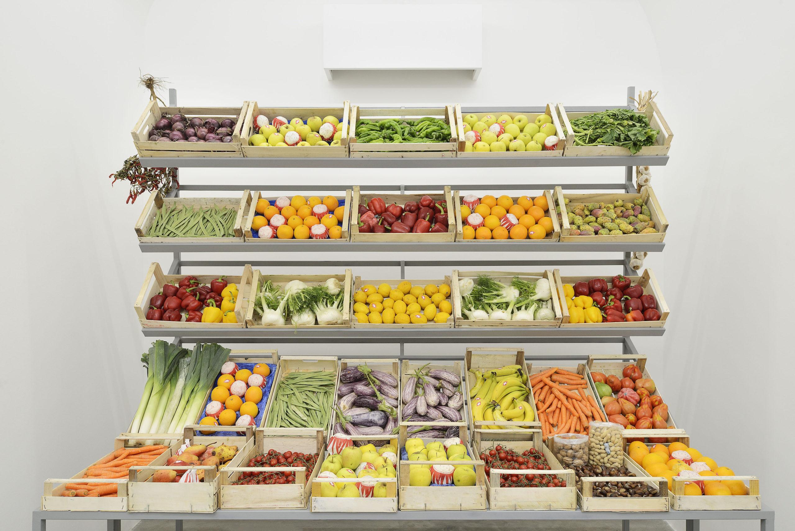 L'Esposizione di frutta e verdura di Giuseppe De Mattia: la mostra a Roma
