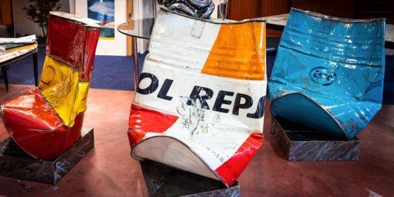 Poltrone OIL di Roberto Mora
