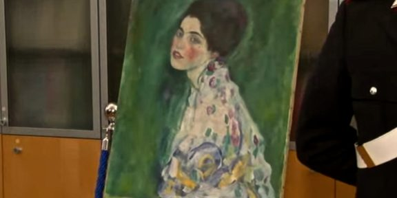 Il Ritratto di Signora di Gustav Klimt ritrovato a Piacenza