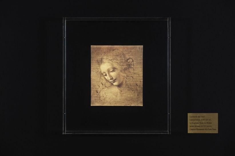 La Scapiliata di Leonardo da Vinci a Parma - DAW