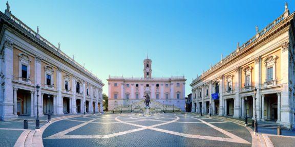 Musei Capitolini - VEDUTA TOTALE Campidoglio