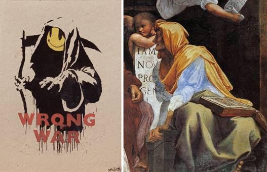Banksy Chiostro del Bramante