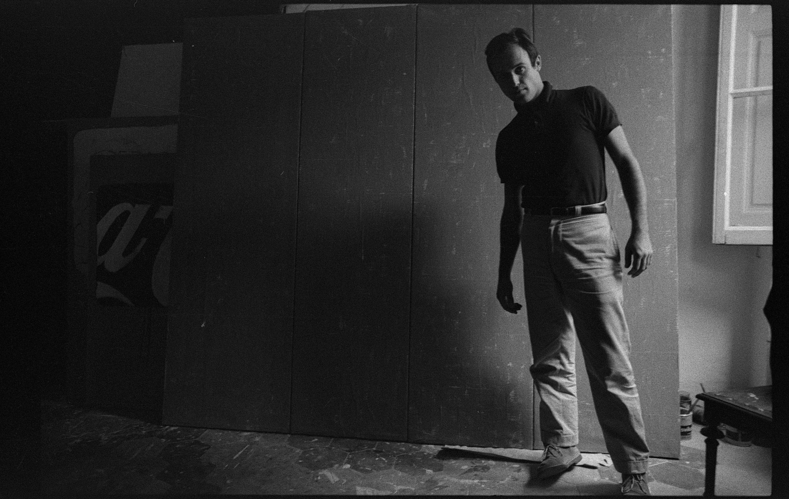 I grandi monocromi di Mario Schifano a Milano, 60 anni dopo la loro creazione