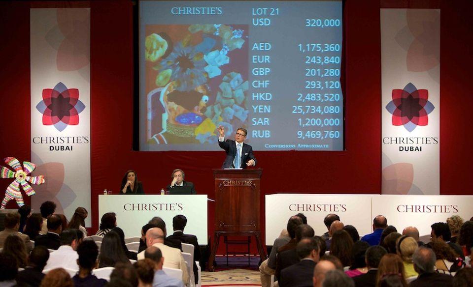 Christie's annulla la vendita di Dubai di arte mediorientale