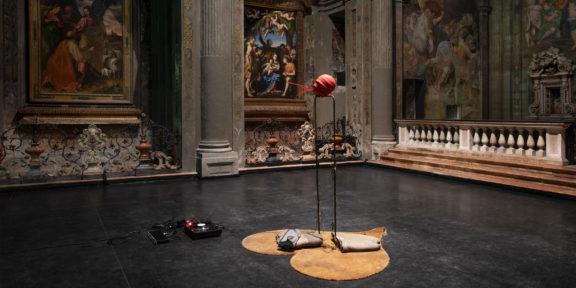 The End, Michael Dean, ex chiesa di San Paolo Converso, Milano, veduta dell'installazione