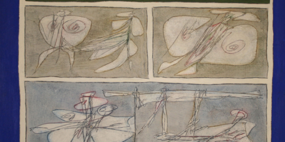 Perilli, Les grands transparents, 1962, cm 120x120