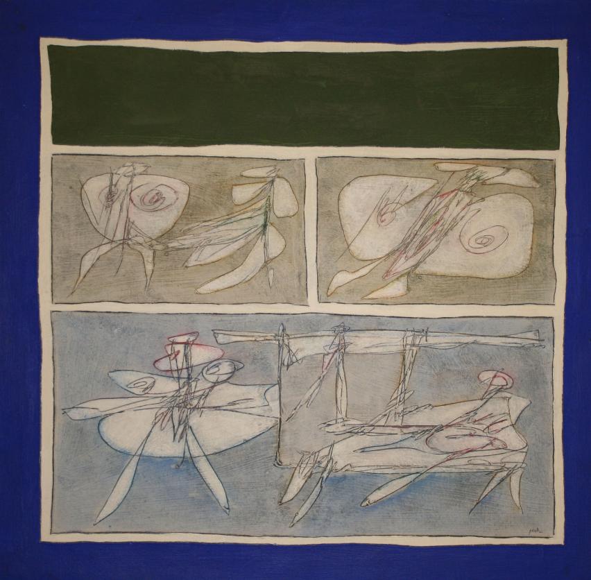 Tra Miró e Klee, la grafia di Achille Perilli illumina Galleria Tega. Fumetti, un prezioso omaggio