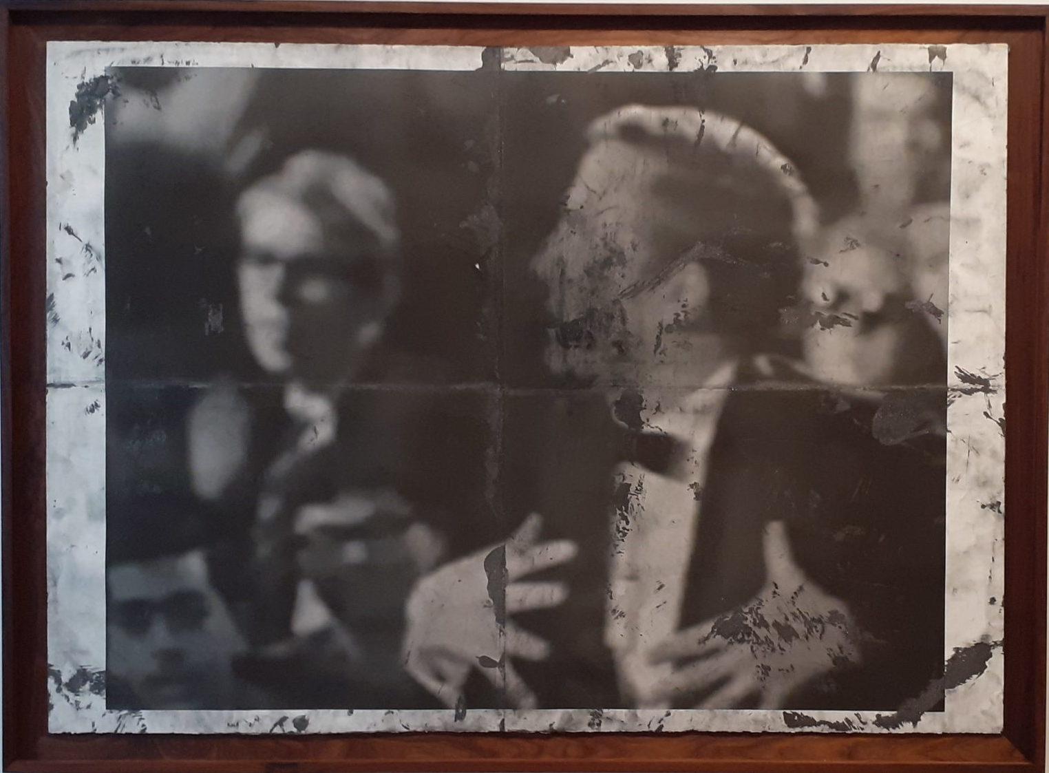 Il potere della grafite. Tony Lewis e il sogno (bianco) americano in scena da Massimo de Carlo