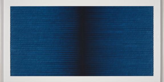 4) I.Blank, Radical Writings, Exercitium n.3, 1993, oil on card/olio su cartone, cm.34,5x70. Courtesy the artist and P420, Bologna photo credit C.Favero
