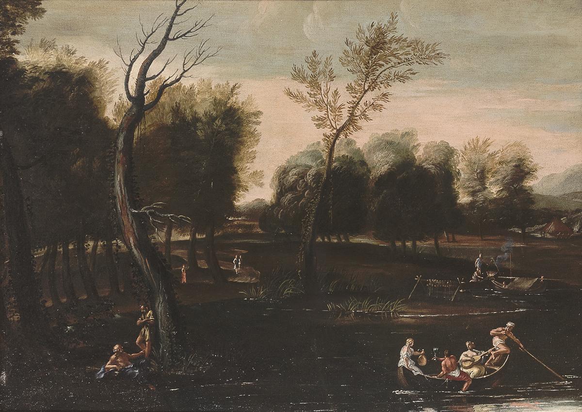 Un paesaggio attribuito ad Annibale Carracci spicca nell'asta di Babuino