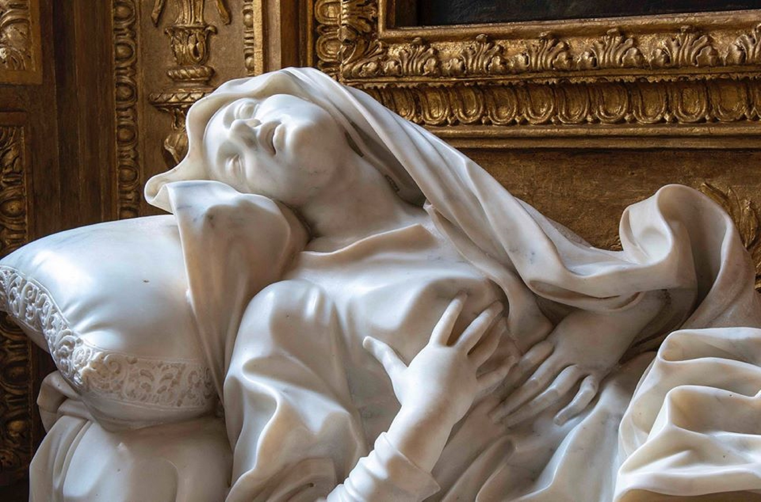 Roma, torna all'antico splendore la Beata Ludovica Albertoni, capolavoro barocco di Bernini