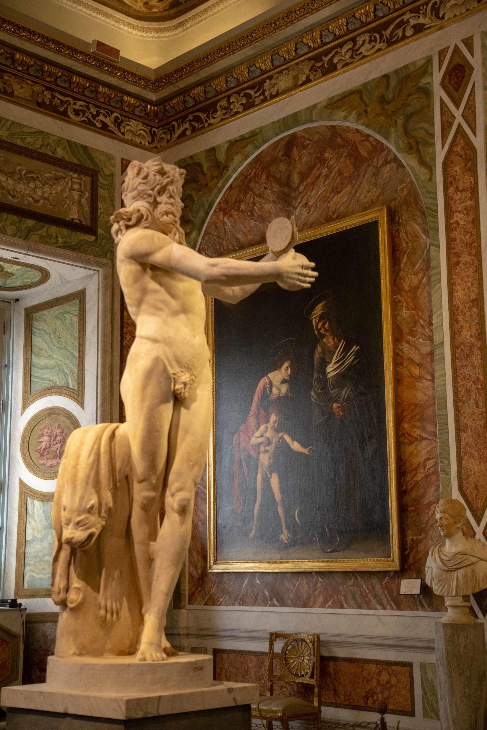 Percorsi per sordi e udenti nella Galleria Borghese, ultimo appuntamento con Caravaggio