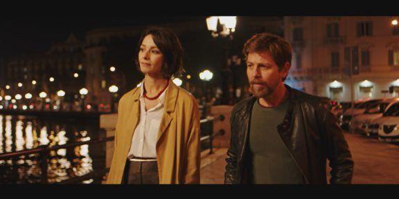 Nicole Grimaudo e Claudio Gioè in Passeggeri notturni