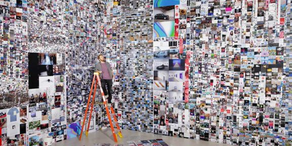 Jeu de Paume The supermarket of images 2020 Evan Roth, Since You Were Born, 2019