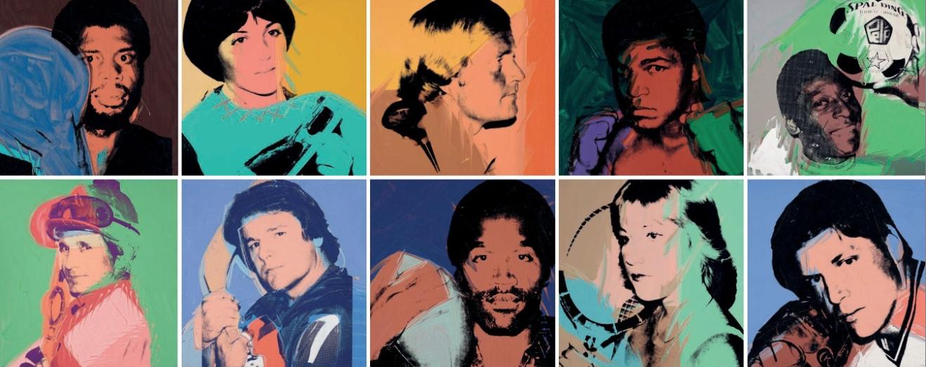 """""""Olimpiadi"""" dell'arte a Londra. Sfida contemporanea con Hockney e Warhol"""