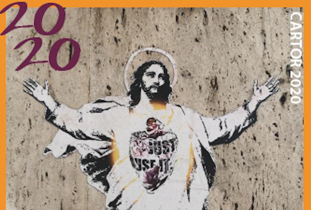 Il Vaticano apre alla Street Art con il francobollo pasquale