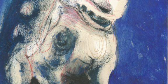 Studio per figura di un leone / Study for a lion figure, olio e matita su carta, 29,5 x 20,5 , 2015