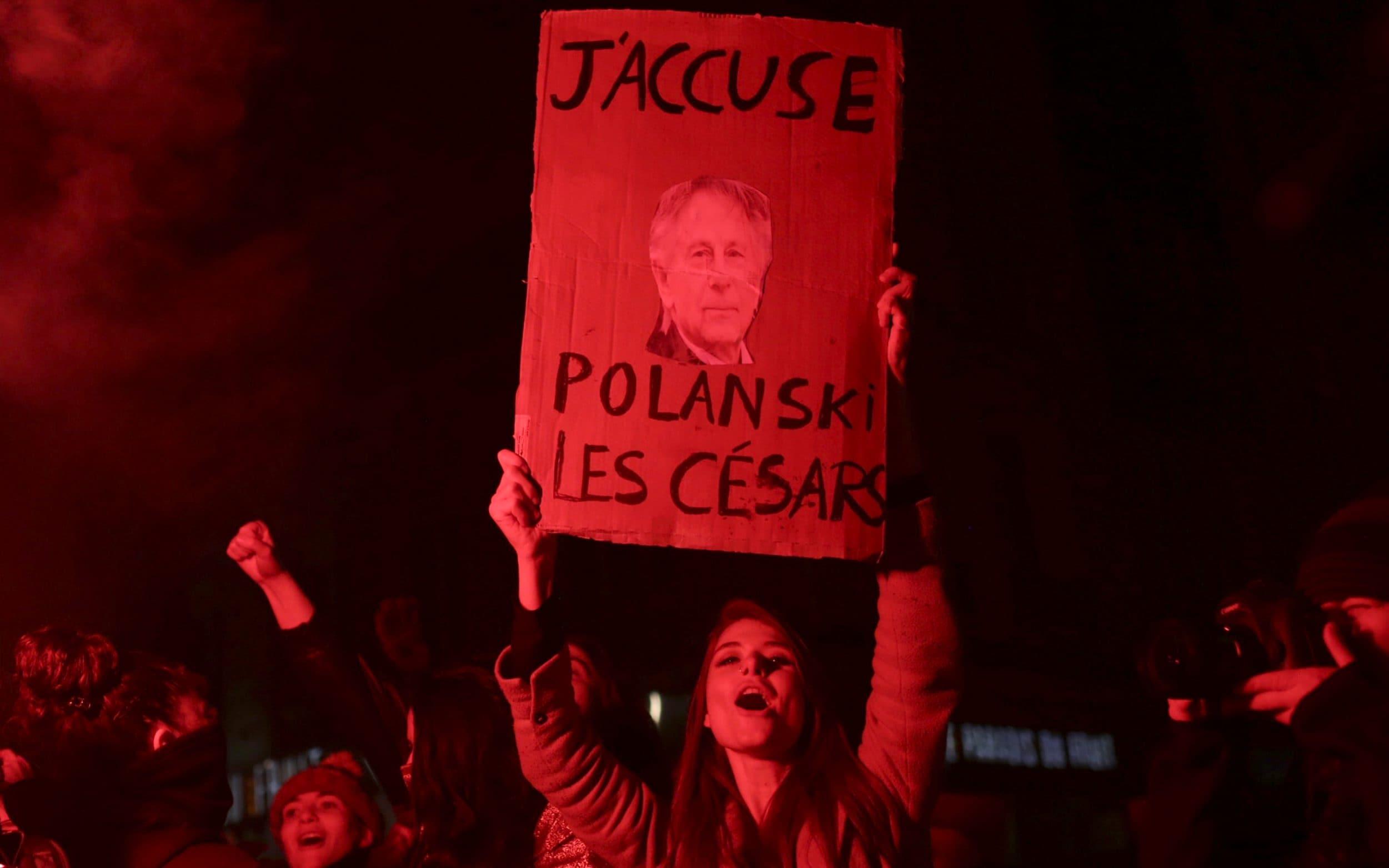 César 2020, proteste per Polański all'urlo di «Bravo la pédophilie!»