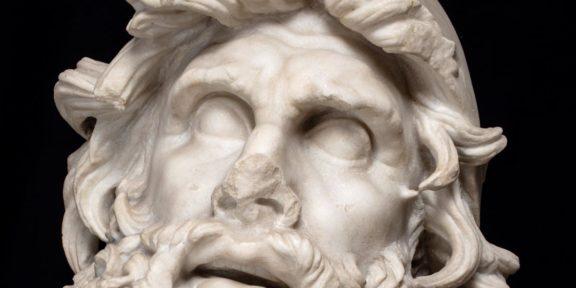 Ulisse, I sec. d.C., marmo. Sperlonga, Museo Archeologico Nazionale